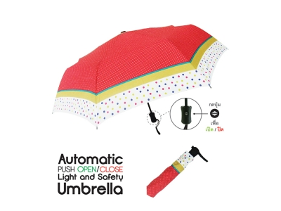 Umbrellas - Automatic Push Open-Close Umbrella